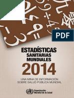 Estadisticas Sanitarias Mundiales OMS 2014