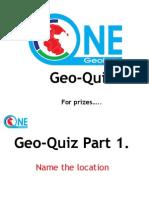 Tuesday 2100 Geo Quiz