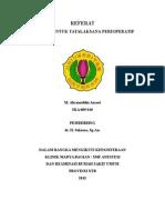 Ketamine for Perioperative Pain Management