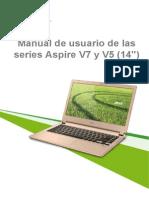 Manual Acer V5 473