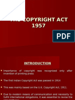 Copy Right Act by ronak .