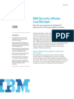 IBM Security QRadar Log Managerxxx