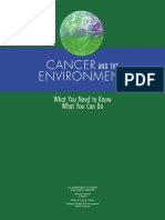Cancer and Environment