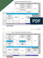 CVS Timetable
