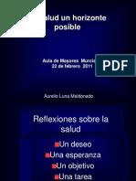 Salud Un Horizonte Posible