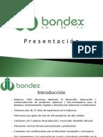 Carta Presentacion Bondex