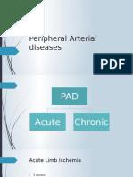 Peripheral Arterial Diseases