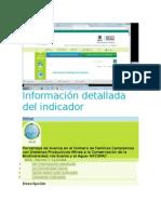 Información Detallada Del Indicador Fincas