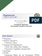 Clase Programación 6