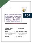 Msc Botany Project Mats University 1