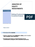 CNC1_Defining Fundamental Equity Investment Analysis (Noted)