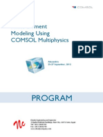 Comsol Alex Course Program Book