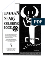The Indian Years Coloring Book