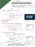 Formulaire D_électro Mécanique