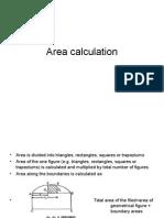 Area Volume Calculation