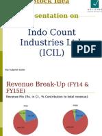 IndoCount - Presentation