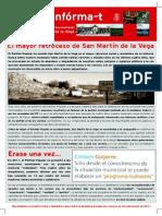 Boletín del PSOE de San Martín de la Vega marzo 2015