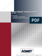 Sheet Metal Testing Guide