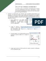 Como Configurar La IP Fija o Manual en Windows 7