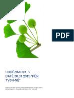Udhezimi Nr.6 Date 30.01.2015 Per TVSH-ne (i Indeksuar Nga Deloitte)