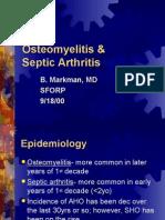 Osteomyelitis Markman 9.18.00
