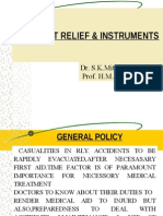 Accident Relief & Instruments