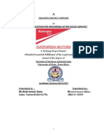 Mahindra Report