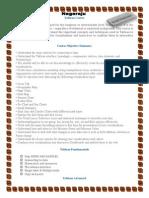 Tableau Course Description