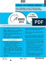 Cad Enem 2014 Dia 1 01 Azul.pdf Gabaritada