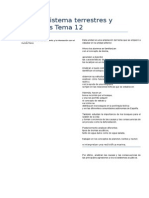 Los Ecosistema Terrestres y Acuáticos Tema 12.DocxCOMPETENCIAS