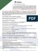 Termo de Compromisso de Estágio - 2015.1 - Cirurgia