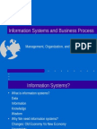 Information System & Business Process