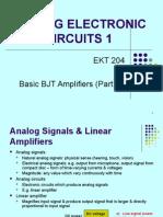 Chptr 1 - Basic BJT Amplifier(I)