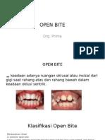 Open Bite (Prima)