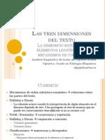 Las Tres Dimensiones Del Texto_sintaxis_cohesión