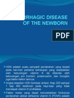 Hemorrhagic Disease of the Newborn