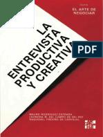 La Entrevista Productiva y Creativa