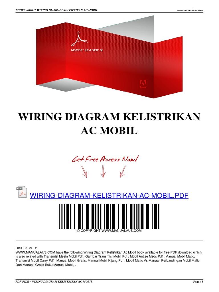 wiring diagram kelistrikan ac mobil gambar mobil subaru gambar wiring diagram ac mobil #16
