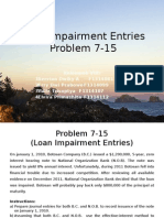 Loan Impairment Entries1