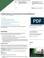 Configuraciones y características del mouse (Windows7) _ Soporte HP®