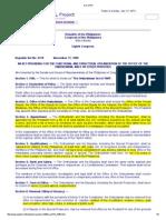 RA 6770 the Ombudsman Act (1989)