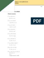 Soluciones Tema de Ecuaciones (2º ESO)