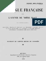 Henri Bourassa - La Langue française