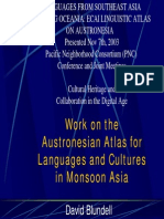 Formosan y Austronesian Languages Map