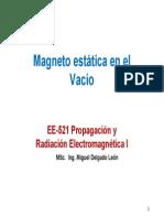 Magnetostatica en El Vacío