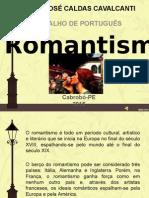 APRESENTAÇÃO ROMANTISMO
