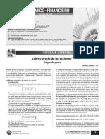 Acciones - Valor y Precio 2da Parte - Xrrev5217137