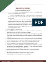 Teacher Rule