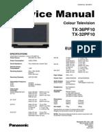 Panasonic TX-36PF10 TX-32PF10 (Euro-5 Chassis)