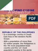 The Filipino Cuisine